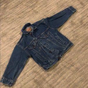 Vintage Levi denim jacket Small 3/4 sleeves